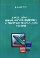 Excel jadval hisoblagichida iqtisodiy va moliyaviy masalalar...