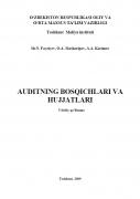 Ust rasmi Auditning bosqichlari va hujjatlari