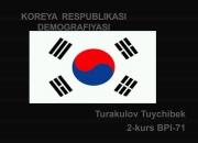 Koreya Respublikasi demografiyasi