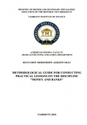 Methodological guide for conducting practical lessons on the...